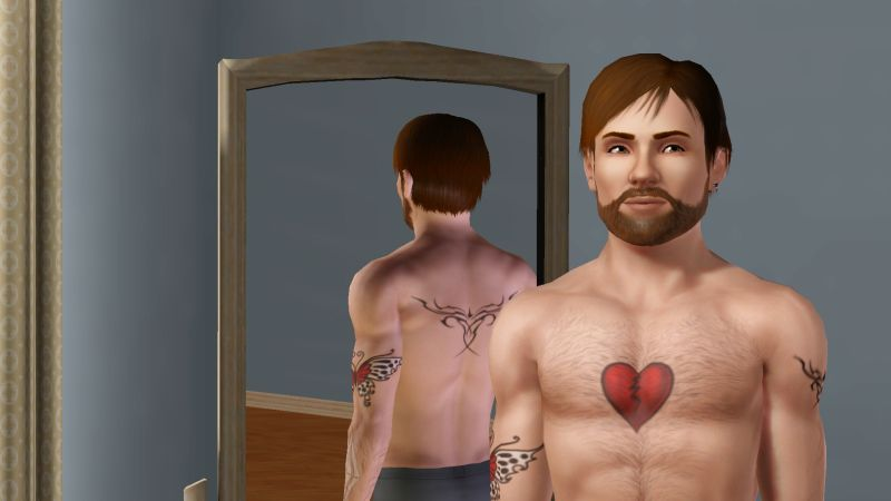 Heart is where the tattoo is! Wait. What?