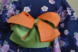 浴衣 帯 アレンジ4