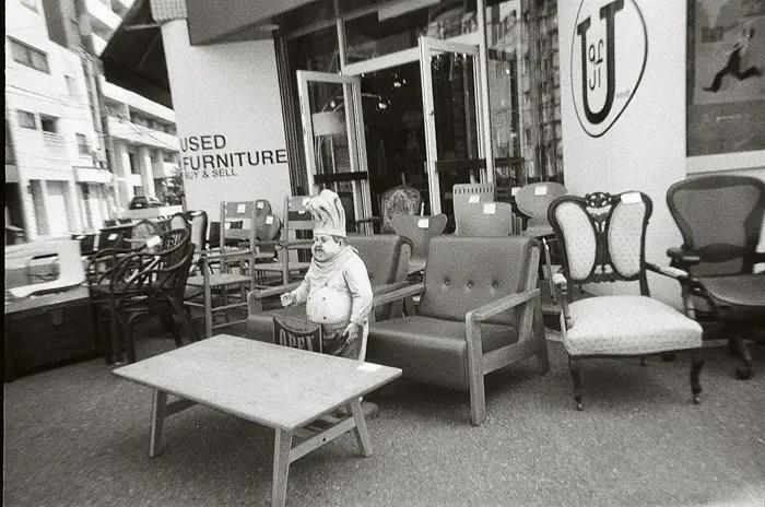 レンズ付きフィルムBlack Whiteで撮った写真