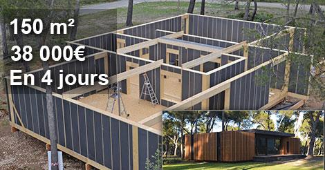 cette maison passive ultra isolee developpee par des francais s assemble comme des lego grace a la legerete des materiaux utilises