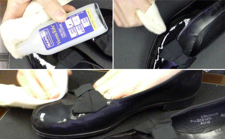 真皮鞋子的保養