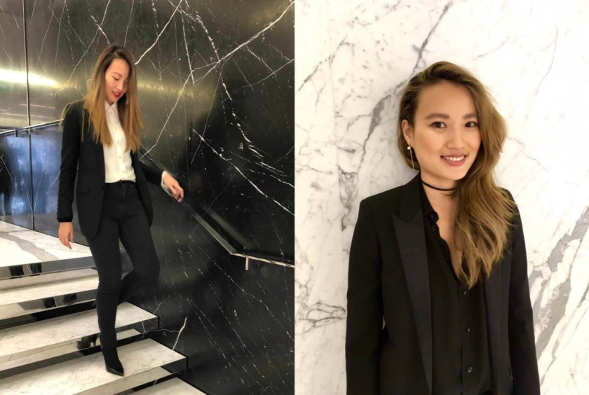 Laurine in YSL