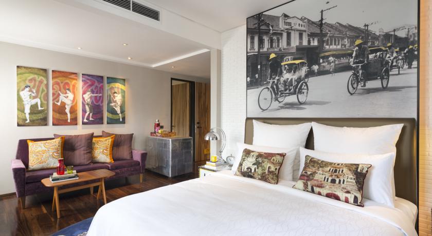 Hotel Indigo Bangkok room