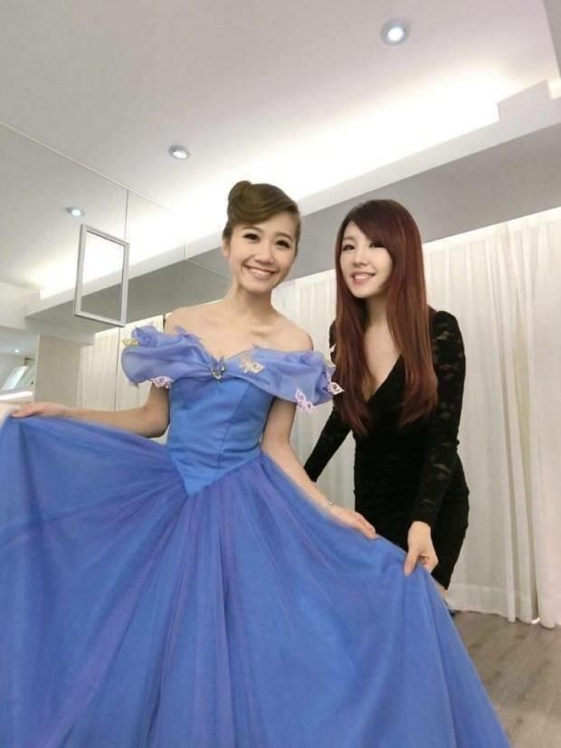 陳彥錞的禮服受到許多藝人青睞