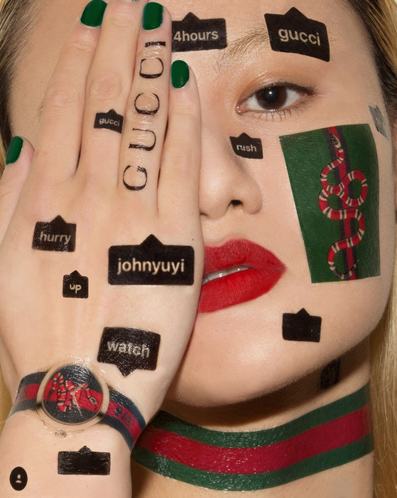 JOHN YUYI X Gucci #TFWGucci project