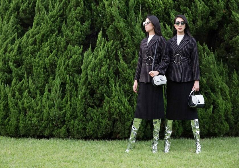 即使現在很少姊妹合體走秀,但姊姊張珈禎對於妹妹的品牌絕對義不容辭,成為最佳代言人