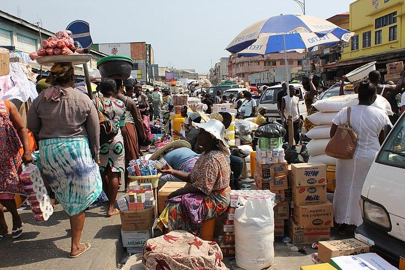 迦納政府推行經濟改革、鼓勵經商。