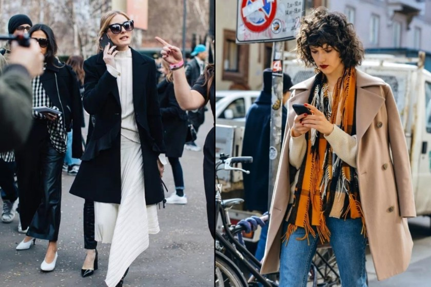 但對於大多數人來說,如果喜歡 A 型的大衣,選擇短款的比較好駕馭,除了能夠遮擋到臀部,也比較可以顯腿長喔!