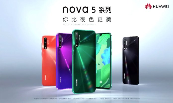 Huawei sells 2 million Nova 5 phones within 30 days