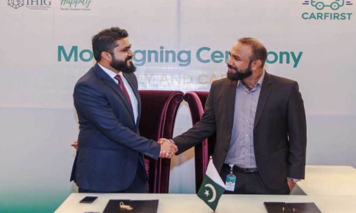 IHIG AND CARFIRST Join Hands