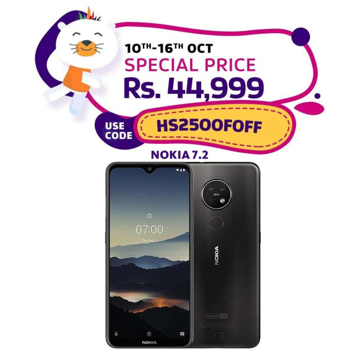 NOKIA 7.2 and 6.2 Available at Daraz.pk at an Amazing Price