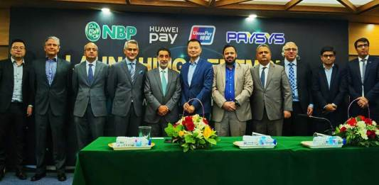 Huawei Cooperates with National Bank of Pakistan and UnionPay To Launch Huawei Pay