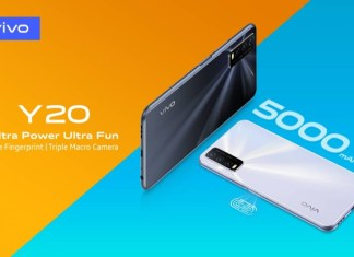 Vivo Launches Y20 with 5000mAh Battery & Triple Macro Camera