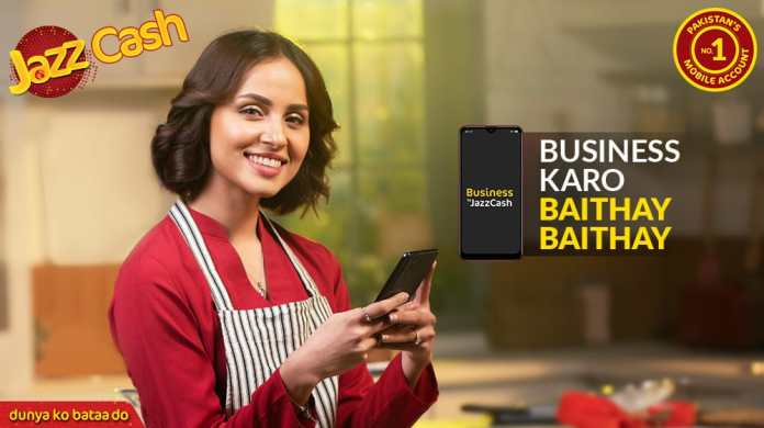JazzCash Introduces New Business App for Business Owners