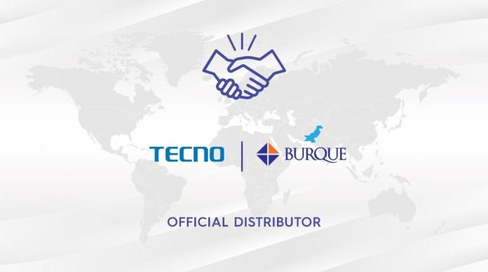 TECNO Pakistan appoints Burque Corporation as its Official Distribution Partner