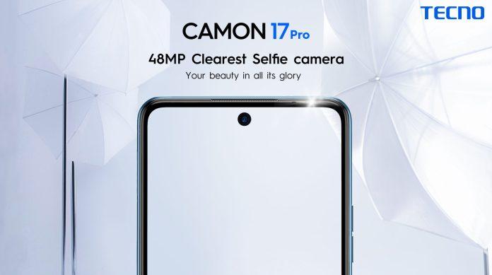 tecno camon 17 selfie camera