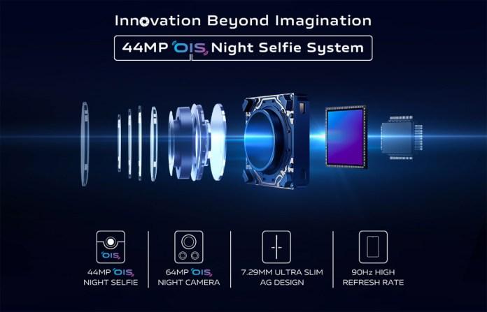 vivo's Ultimate 44MP OIS Night Selfie System