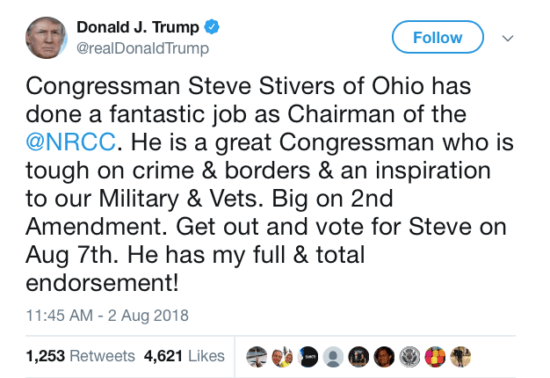 Trump Ohio Special Election