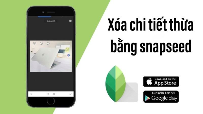 app xoá chi tiết thừa trên ảnh iphone