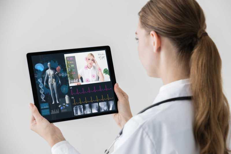 Resultado de imagem para Enfermeira virtual