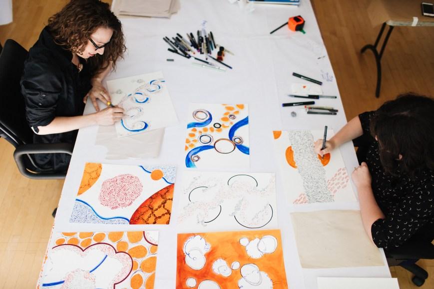 Fiona Chinkan and Maria Doering, Princeton 2017