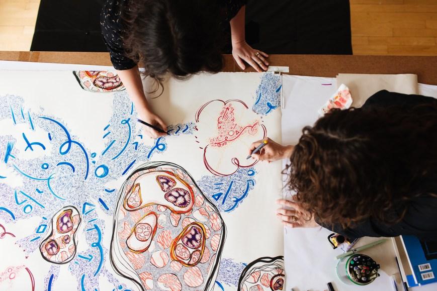 Artistic Collaboration, Taplin Gallery, Princeton 2017
