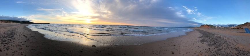 Inverness Beach Panorama