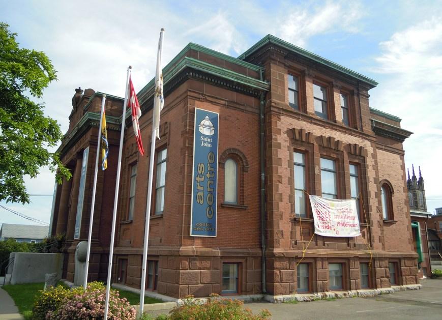 Saint John Arts Centre, Saint John, NB, CANADA