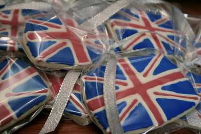 The Queen's Diamond Jubilee Union Jack (British Flag) Sugar Cookies