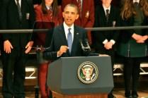 US President Barack OBAMA (c) Allan LEONARD @MrUlster