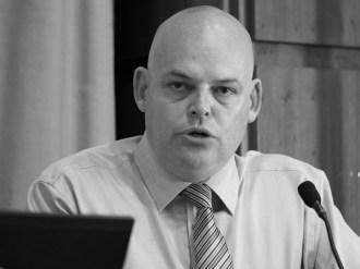 Peter OSBORNE (Chair, Community Relations Council) (c) Allan LEONARD @MrUlster