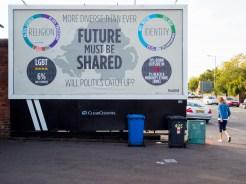 Future Must Be Shared billboard (c) Allan LEONARD @MrUlster