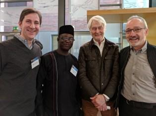 Allan LEONARD, Rev. John Joseph HAYAB, Padraig O'MALLEY, and Quintin OLIVER (c) Allan LEONARD @MrUlster