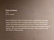 Silent Testimony exhibition by Colin DAVIDSON. Ulster Museum, Belfast, Northern Ireland. @ColinDavidson (c) Allan LEONARD @MrUlster