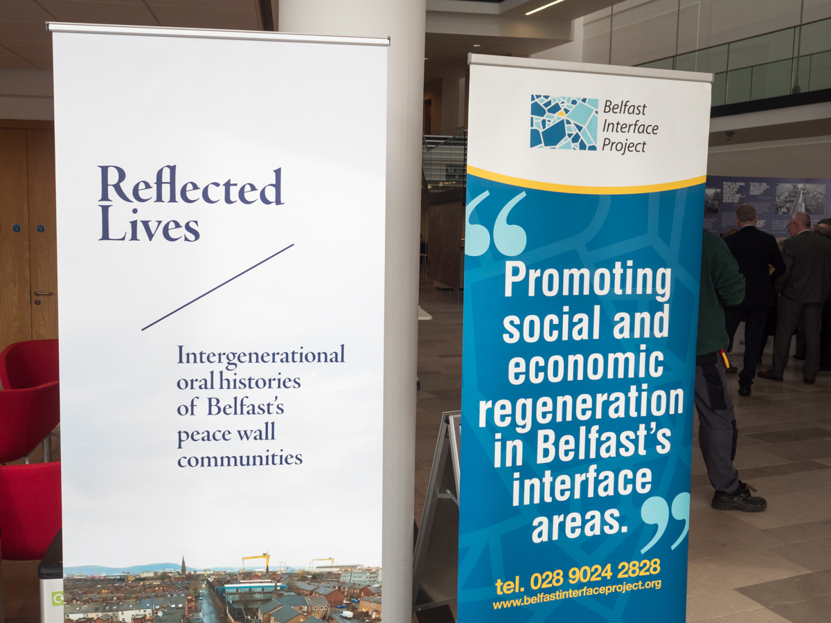 Exhibition launch: Reflected Lives. Public Record Office of Northern Ireland, Belfast, Northern Ireland. @BIP_Interfaces (c) Allan LEONARD @MrUlster