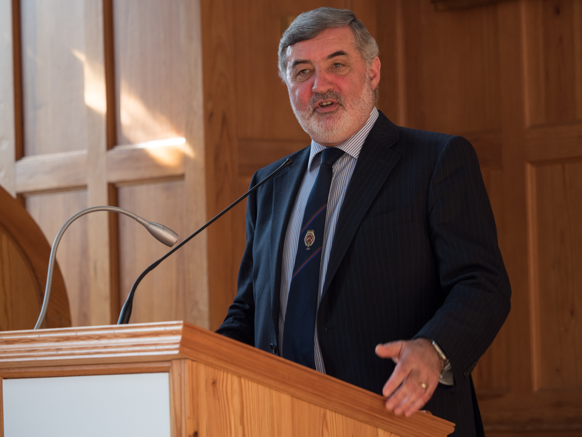 """Understanding irrationality to save the human race"": Lord John ALDERDICE"
