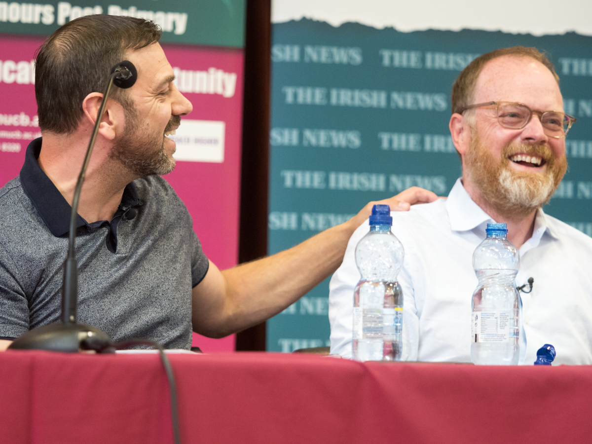 The role of media in conflict: A Féile discussion