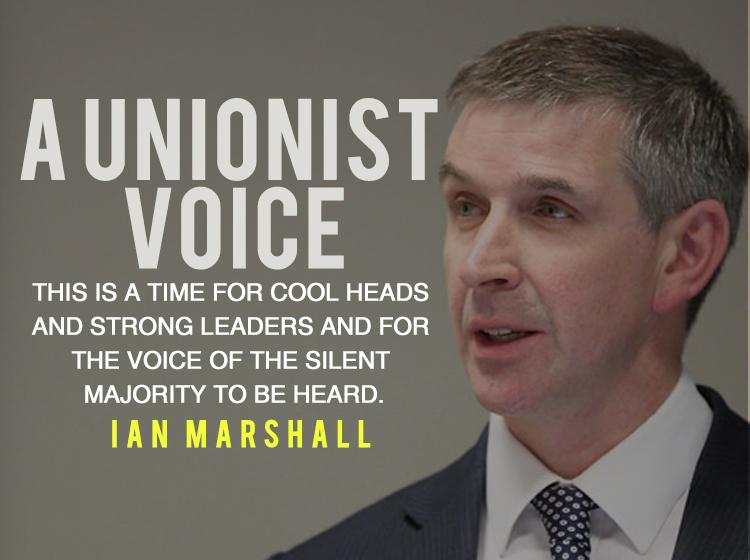 Ian Marshall Unionist Voice Ireland