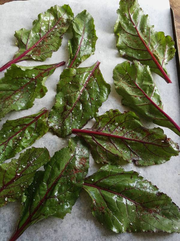 Beetroot leaves