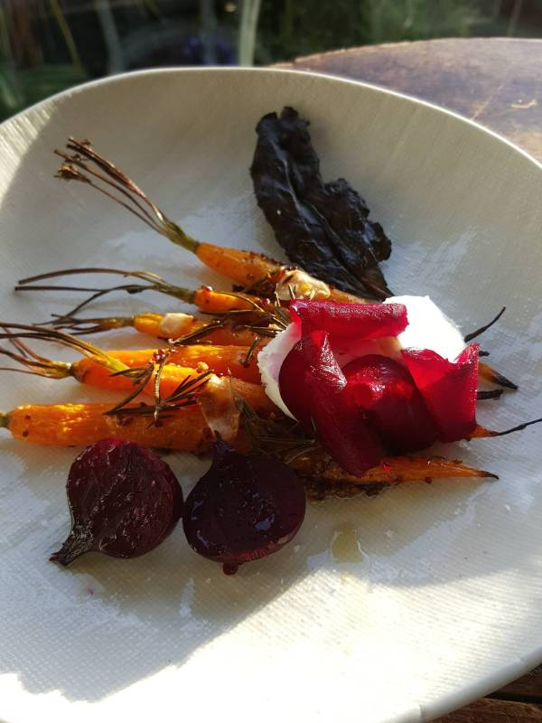 Carrot & beetroot