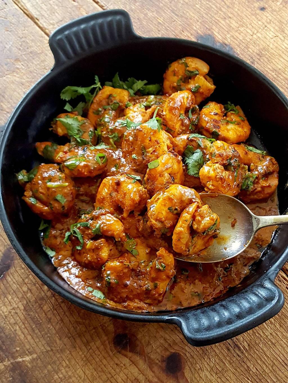 Prawn Curry - fast & fabulous
