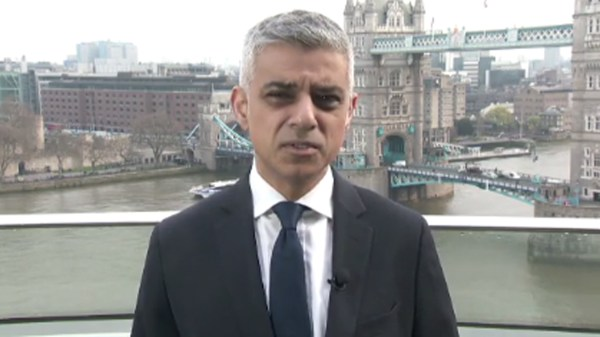 London mayor hits Trump over anti-Muslim videos