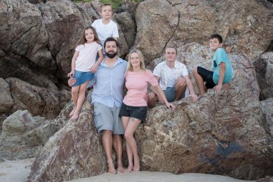 Shared Moments Family Photo Shoot Gold Coast