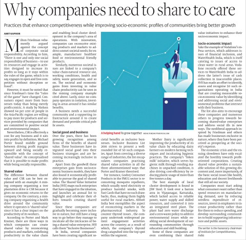 Why companies need to share to care
