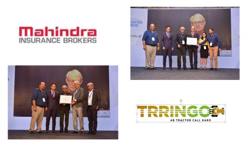 Mahindra Insurance Brokers and Trringo win the Porter Prize 2018 for Creating Shared Value