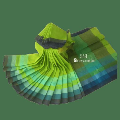 Rainbow Cotton Saree 549