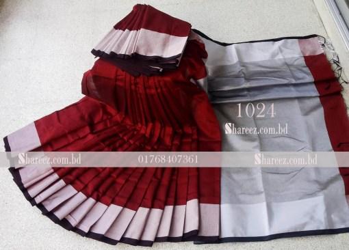 Half Silk Saree 1024