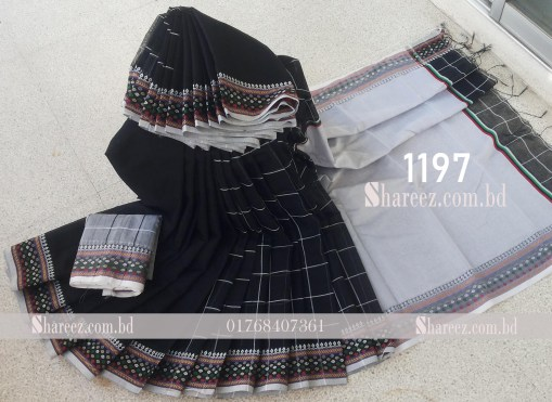 Half Silk Saree 1197