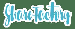 Logo Sharefactory Communication Digitale