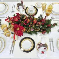 Carinho e criatividade na hora de arrumar a mesa de Natal